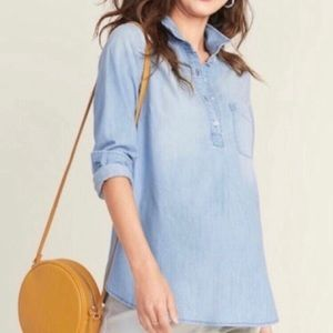 Light Chambray Popover size Small